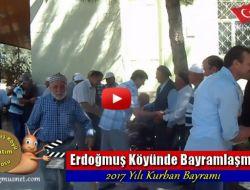 Erdoğmuş Köyünde Bayramlaşma - 2017 Yılı Kurban Bayramı